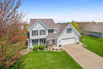 Appleton Single Family Home Active-Offer No Bump: W5426 White Clover
