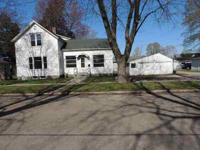 Marinette Single Family Home Active-No Offer: 1321 Church