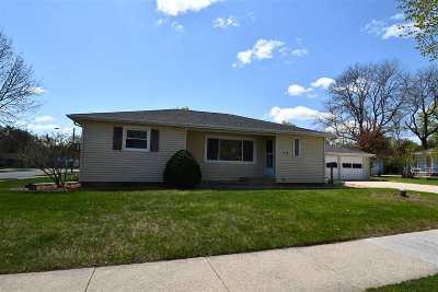 Appleton Single Family Home Active-No Offer: 1413 E Byrd
