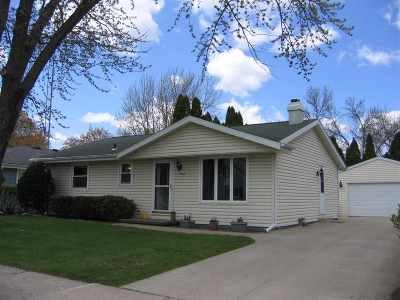 Appleton Single Family Home Active-Offer No Bump: 1506 E Plaza