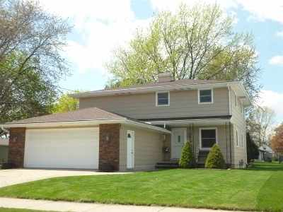 Menasha Single Family Home Active-Offer No Bump: 624 Warsaw