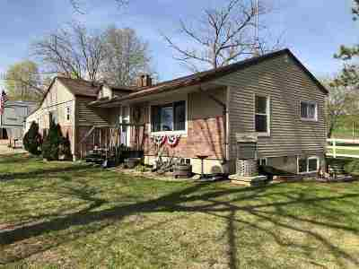 Shawano County Single Family Home Active-No Offer: N3658 Hwy 47
