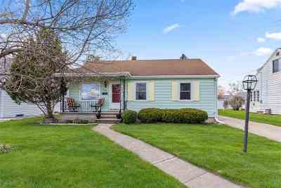 Neenah Single Family Home Active-Offer No Bump: 869 S Commercial