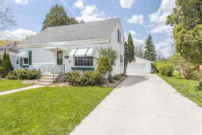 Green Bay Single Family Home Active-Offer No Bump: 707 Columbia