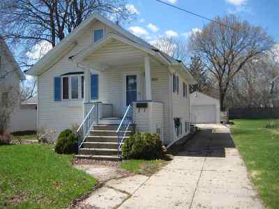 Oshkosh Single Family Home Active-No Offer: 909 Monroe