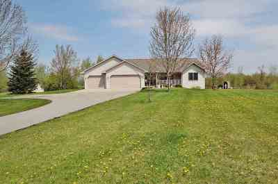 Shawano County Single Family Home Active-Offer No Bump: W3616 Beech