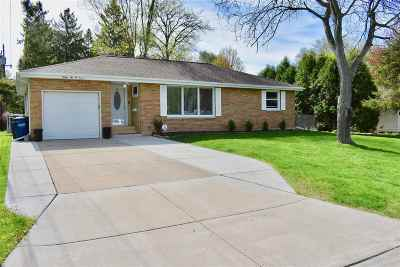 Green Bay Single Family Home Active-No Offer: 3207 S Clay