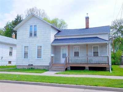Oshkosh Single Family Home Active-No Offer: 814 Central