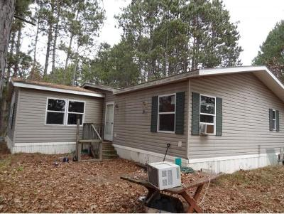 Waupaca Single Family Home Active-No Offer: N1391 McAllister