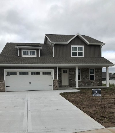 Green Bay Single Family Home Active-No Offer: 327 Hidden Creek