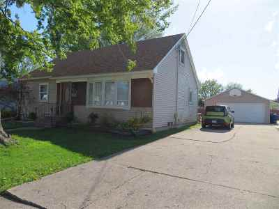 Menasha Single Family Home Active-No Offer: 828 Arthur