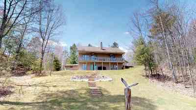 Mountain WI Single Family Home Active-No Offer: $349,900