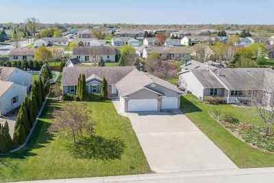 Appleton Single Family Home Active-No Offer: 1629 W Rachel