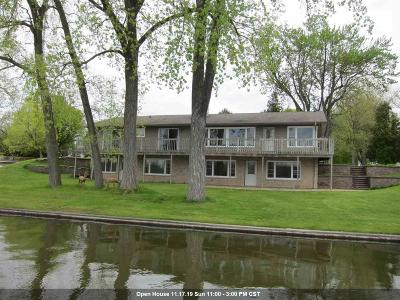 Menasha Single Family Home Active-No Offer: 1744 Lakeshore