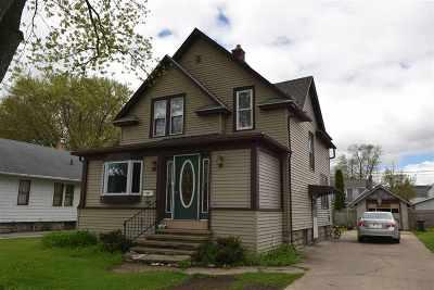 Neenah Single Family Home Active-No Offer: 537 Oak
