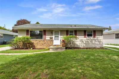 Appleton Single Family Home Active-Offer No Bump: 515 S Joseph
