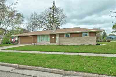 Appleton Single Family Home Active-No Offer: 2417 N Union