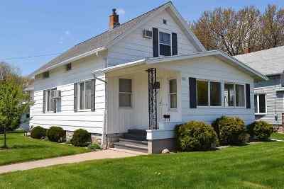 Oshkosh Single Family Home Active-No Offer: 801 Hazel