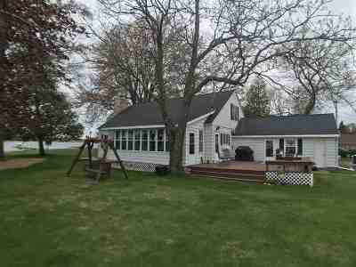 Shawano Single Family Home Active-Offer No Bump: W6279 Webers Point