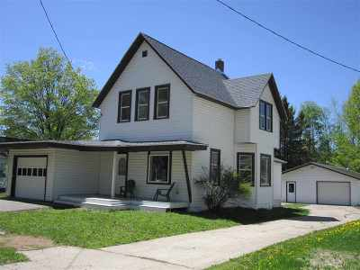 Shawano County Single Family Home Active-Offer No Bump-Show: 715 S Webb