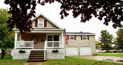Menominee Single Family Home Active-No Offer: 2017 16th