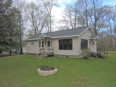 Pound WI Single Family Home Active-No Offer: $159,900