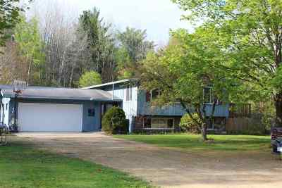 Shawano Single Family Home Active-Offer No Bump: W8022 Hwy Mmm