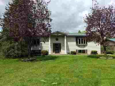 Waupaca Single Family Home Active-Offer No Bump: E3268 Cross
