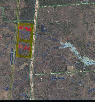 Oconto County Residential Lots & Land Active-No Offer: Hwy 141