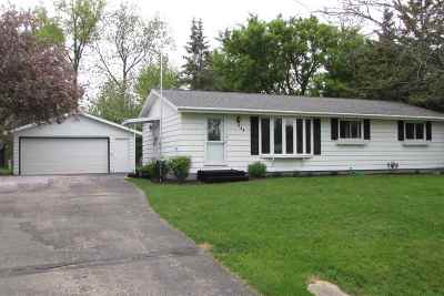 Waupaca Single Family Home Active-Offer No Bump: 524 Wisconsin