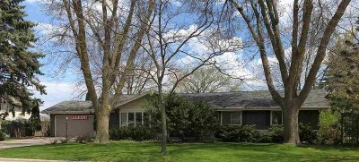 Green Bay Single Family Home Active-No Offer: 2063 Barberry