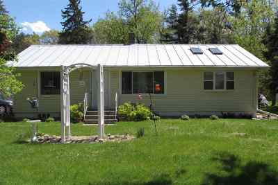 Waupaca Single Family Home Active-No Offer: N2798 Hwy Qq