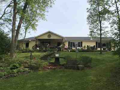 Shawano County Single Family Home Active-Offer No Bump: W6905 Bailey