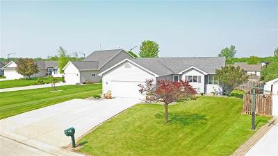 Neenah Single Family Home Active-Offer No Bump: 1560 Hillsdale