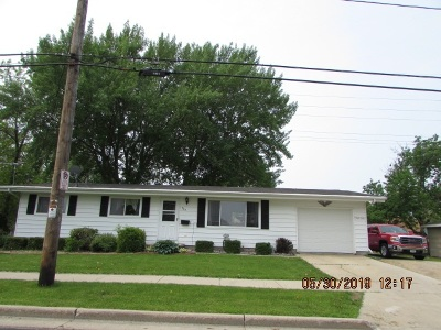 Menasha Single Family Home Active-Offer No Bump: 734 Milwaukee