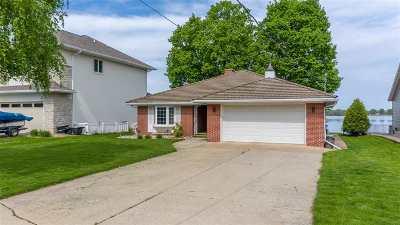 Menasha Single Family Home Active-Offer No Bump: 1318 Lakeshore