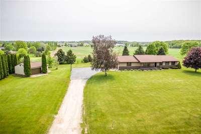 Appleton Single Family Home Active-Offer No Bump: W3761 Center Valley