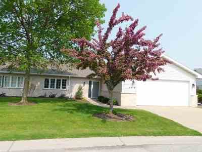 Green Bay Condo/Townhouse Active-No Offer: 1514 River Pines