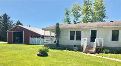 Menominee Single Family Home Active-No Offer: W6733 2.5
