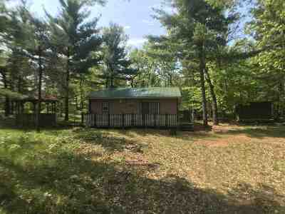 Shawano Single Family Home Active-Offer No Bump: N7015 W Lake Crest
