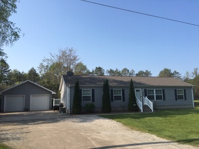 Menominee Single Family Home Active-Offer No Bump: W5731 Evergreen