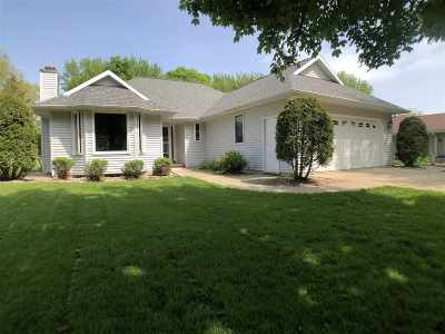 Menasha Single Family Home Active-Offer No Bump: 1107 Sterling Heights