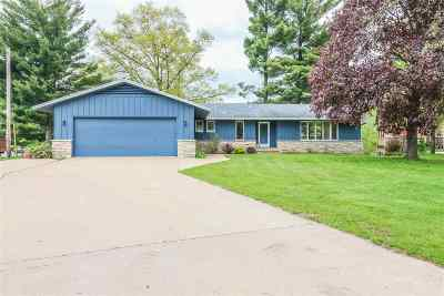 Waupaca Single Family Home Active-No Offer: 138 Shadow Lake