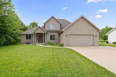 Menasha Single Family Home Active-Offer No Bump: 1294 Fieldview