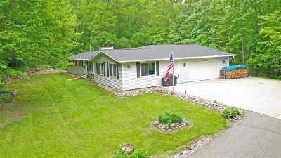 Waupaca Single Family Home Active-Offer No Bump: 11072 Badger
