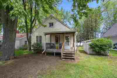 Shawano County Single Family Home Active-No Offer: W4594 Buss