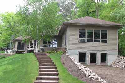 Waupaca Single Family Home Active-No Offer: N2380 Long Cove