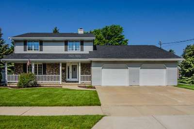 Menasha Single Family Home Active-Offer No Bump: 716 Grove