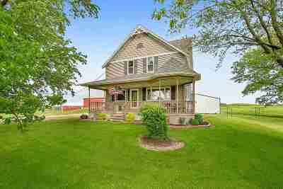 Sherwood Single Family Home Active-No Offer: N7592 Hwy 114