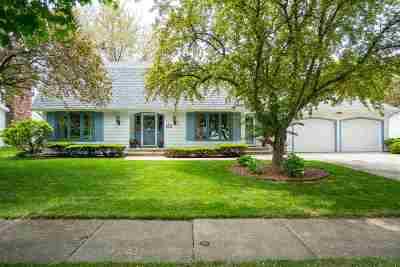 Appleton Single Family Home Active-No Offer: 2709 Beechwood